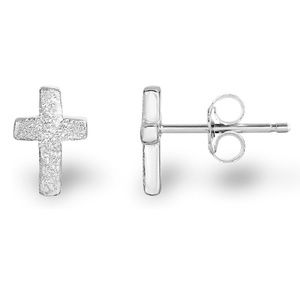 Jewelry - Rhodium Plated 925 Sterling Silver Matte Finish